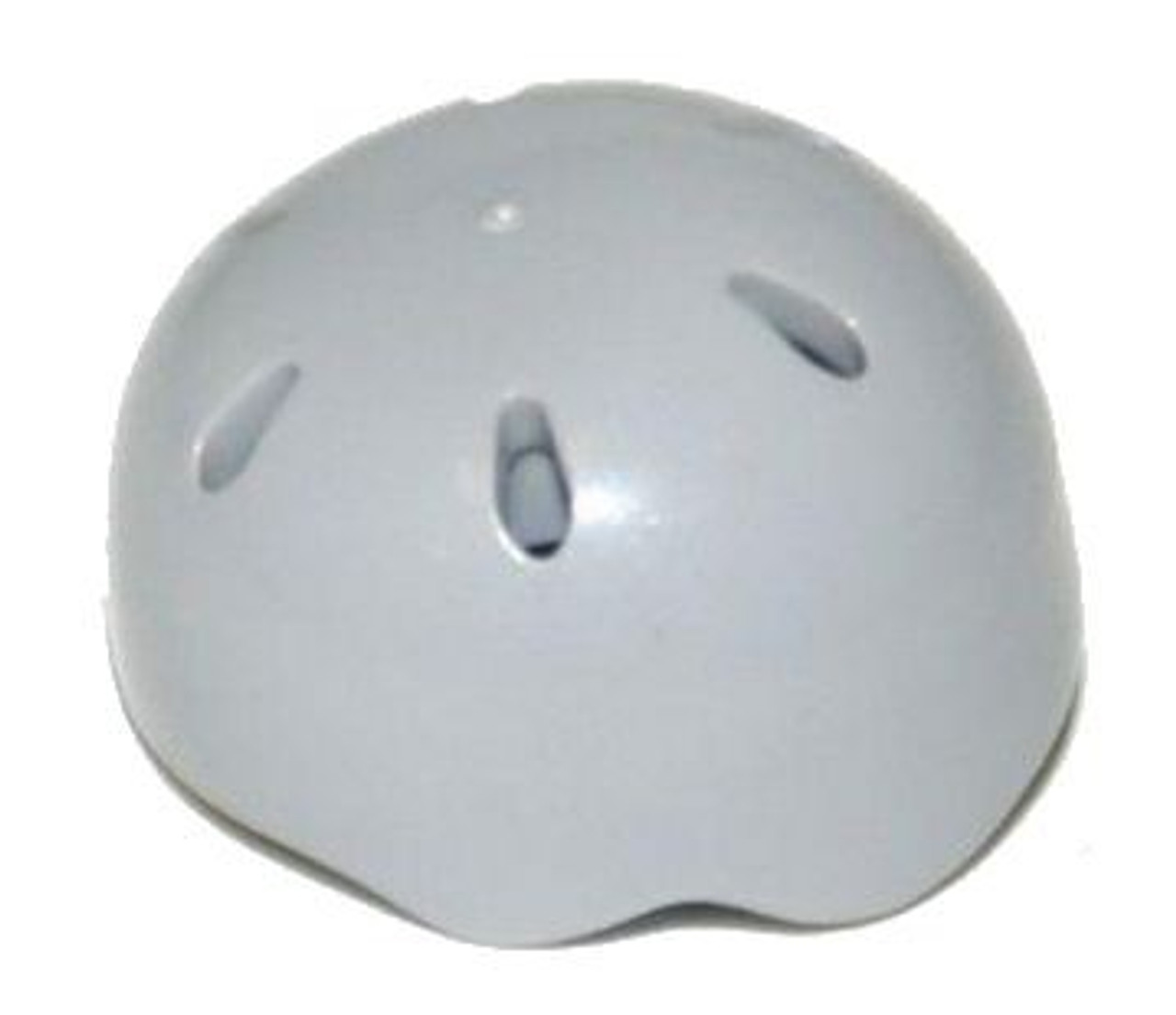 133cdb19 LEGO City Headgear Light Gray Bike Helmet Loose - ToyWiz