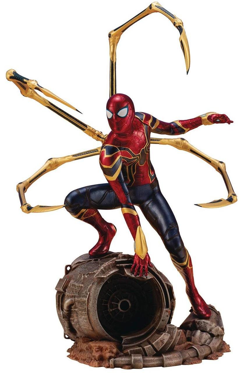 Marvel Comics Spider Man 1//10 Battle Action Figure Collectible Statue PS4