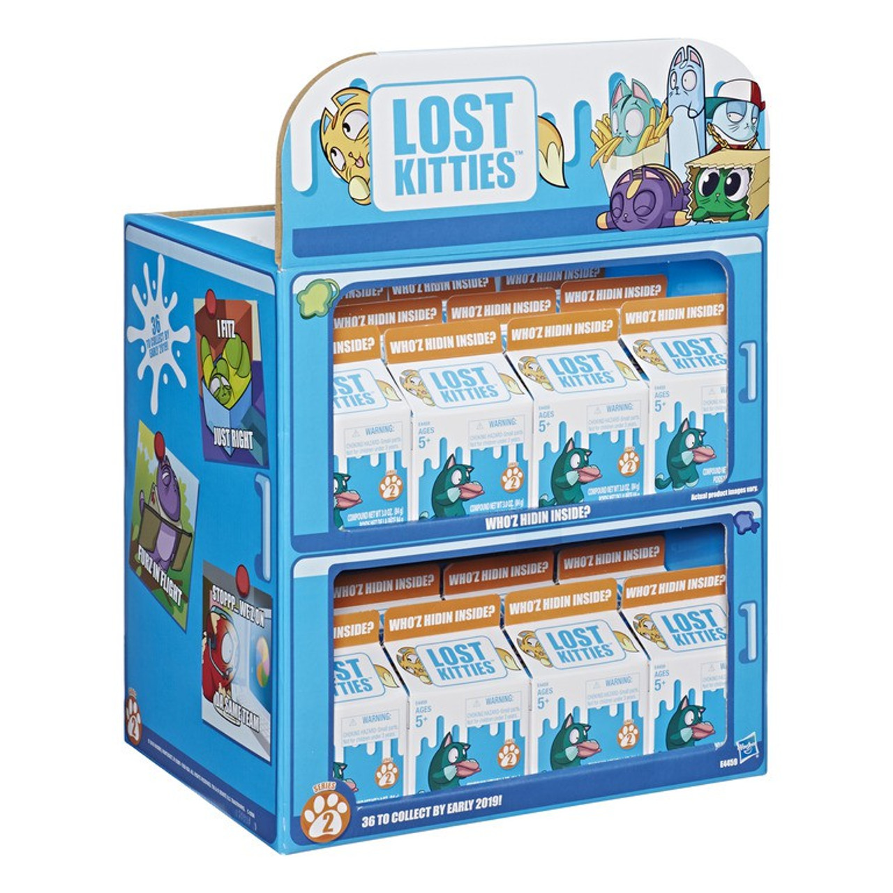 5 Packs Inside! Lost Kitties Series 1 Mystery Multi-Pack