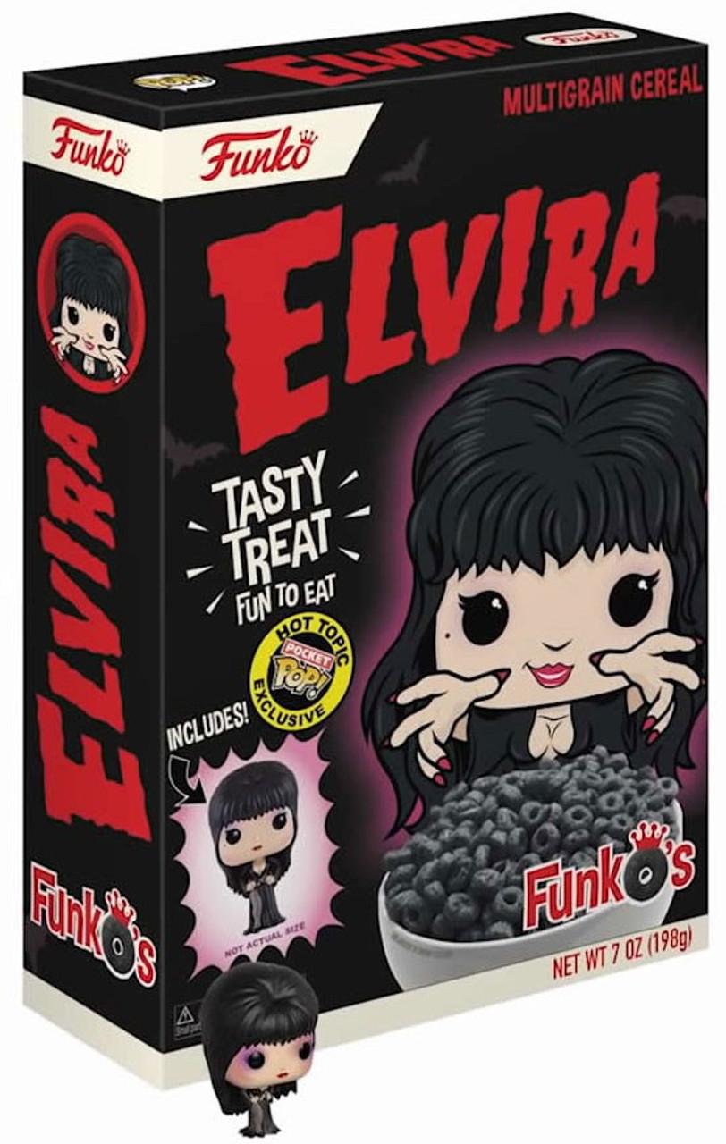 FunkO's Elvira Mistress of the Dark Exclusive Breakfast Cereal