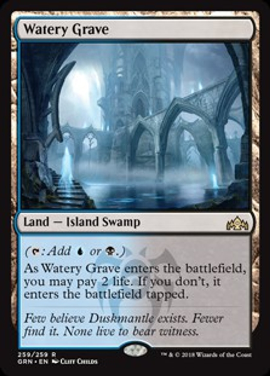MTG Watery Grave Rare