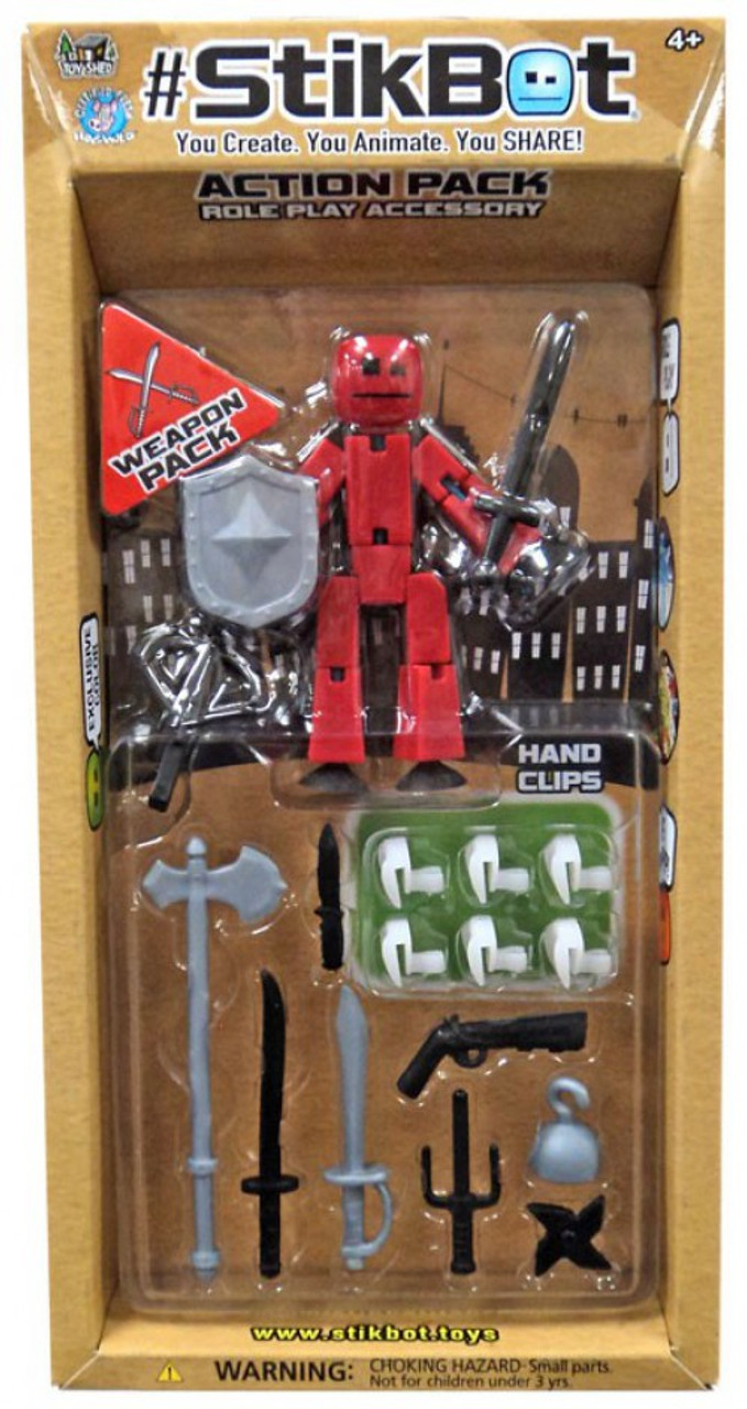 Zing Stikbot Weapons Action Pack Assortment