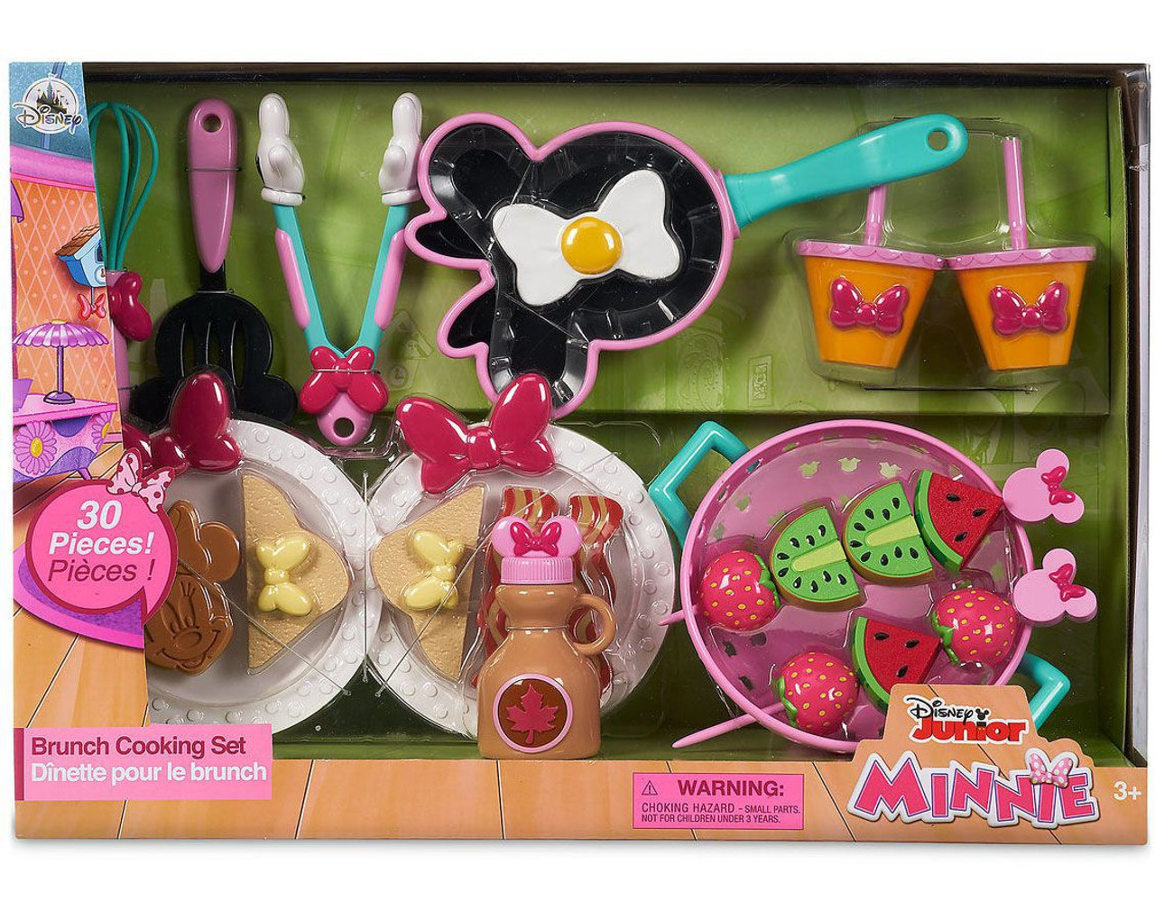 Disney Minnie Mouse 2018 Brunch Cooking Set Exclusive Playset