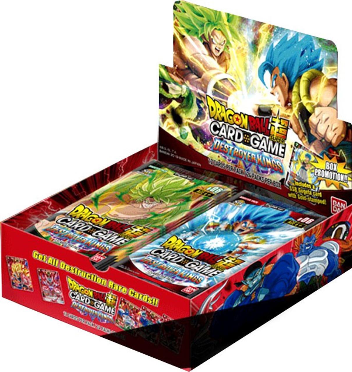Dragon Ball Super Card Game Assault of the Saiyans Sealed Booster Box24 Packs