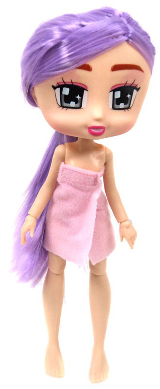 Boxy Girls Let/'s Party Collection Fashion and Clothes Dolls Purple Hair and Ti