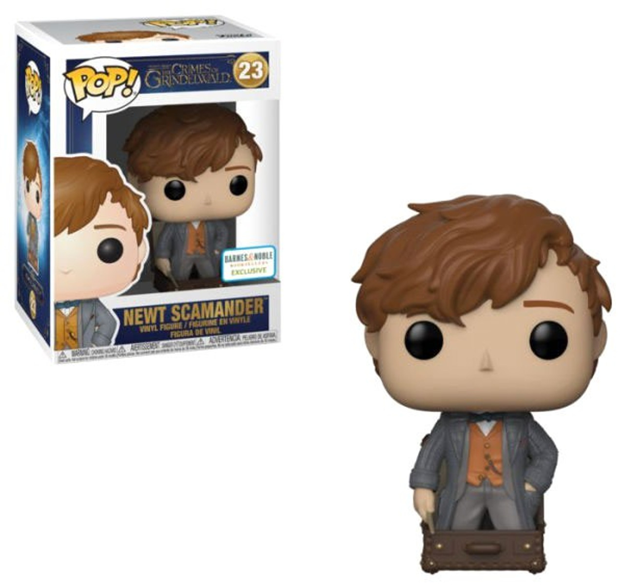 2521a6761ea Funko Harry Potter Fantastic Beasts The Crimes of Grindelwald Funko POP  Movies Newt Scamander Exclusive Vinyl Figure 23 in Suitcase - ToyWiz