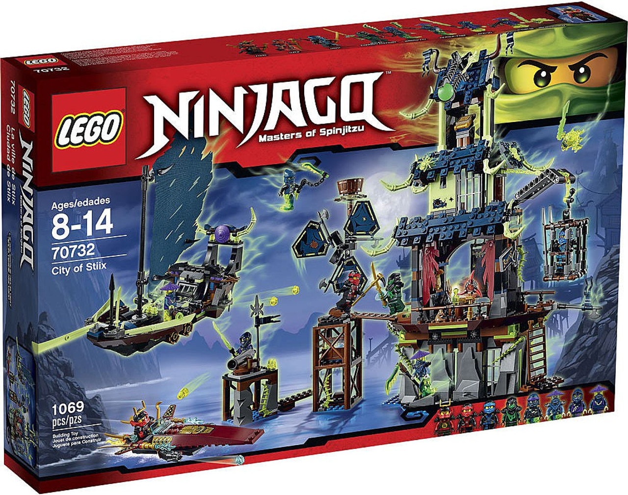 Stiix Package Exclusive Ninjago Of Lego Set70732damaged City dQthxrsBC