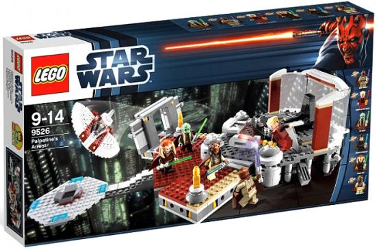 Lego Star Wars Revenge Of The Sith Palpatines Arrest Exclusive Set 9526 Toywiz