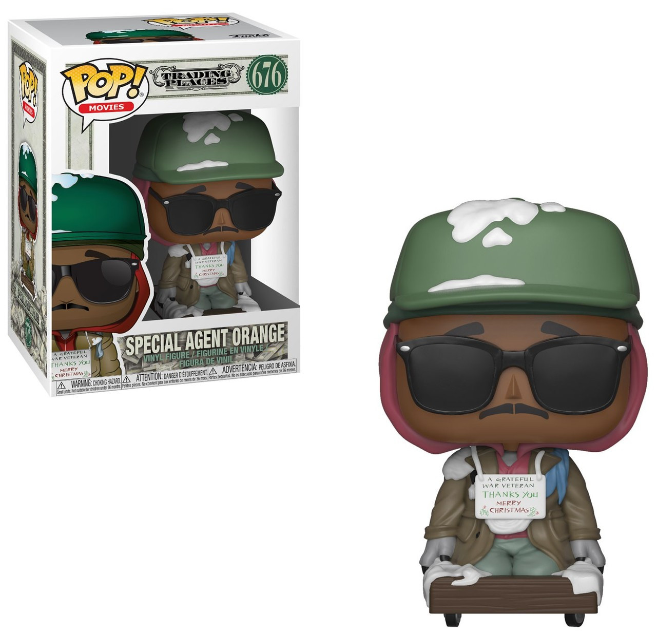 Pop! Trading Places Funko Billy Ray Valentine n°674