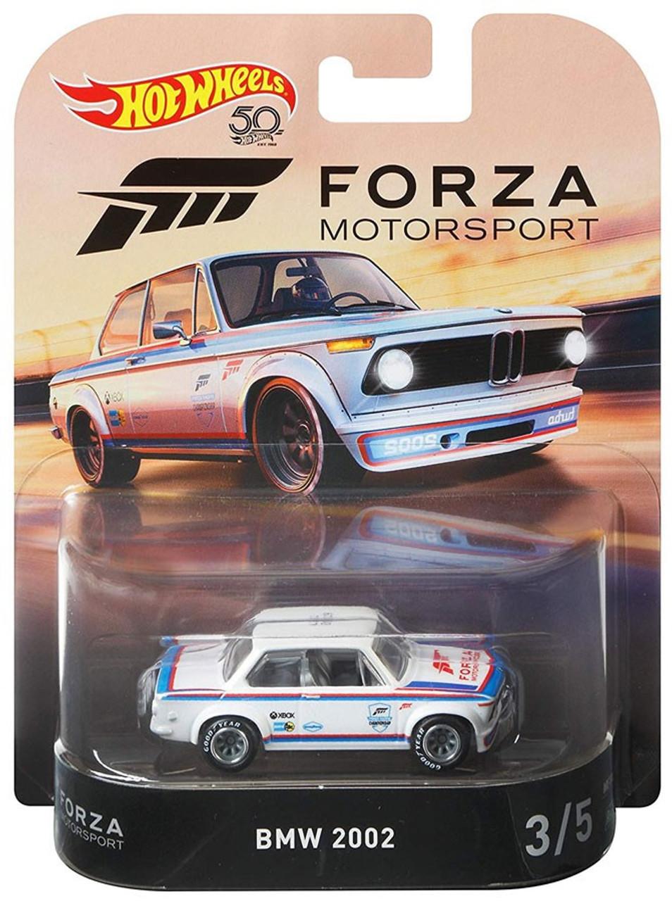 BMW 2002 Forza 3//5 Retro Entertainment 1:64 Hot Wheels FLD21 DMC55