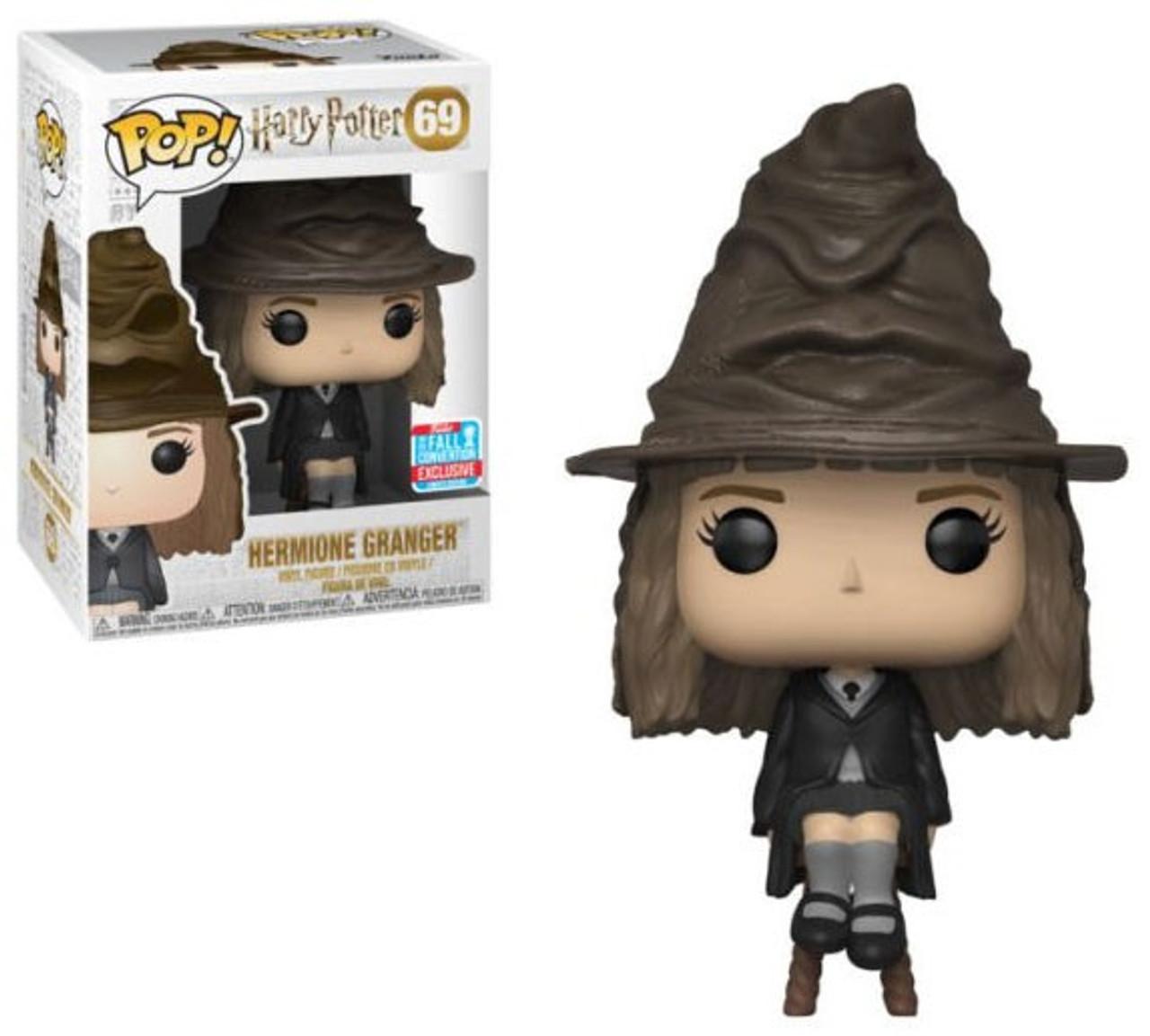 8d62cde2d06 Funko Harry Potter Funko POP Movies Hermione Granger Exclusive Vinyl Figure  69 Sorting Hat - ToyWiz