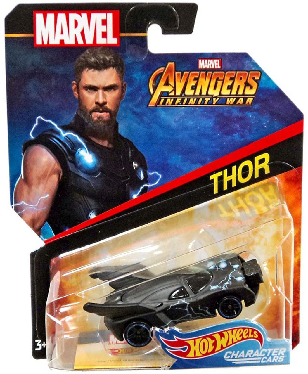HW Thor Character Cars 2018 Marvel Avengers 1:64