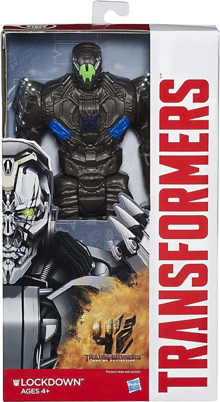 Transformers Age Of Extinction Lockdown Titan Action Figure Damaged Package Hasbro Toys Toywiz