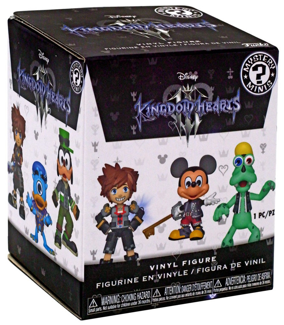 Figures by the Unit You choose ! Funko Mystery Minis Kingdom Hearts