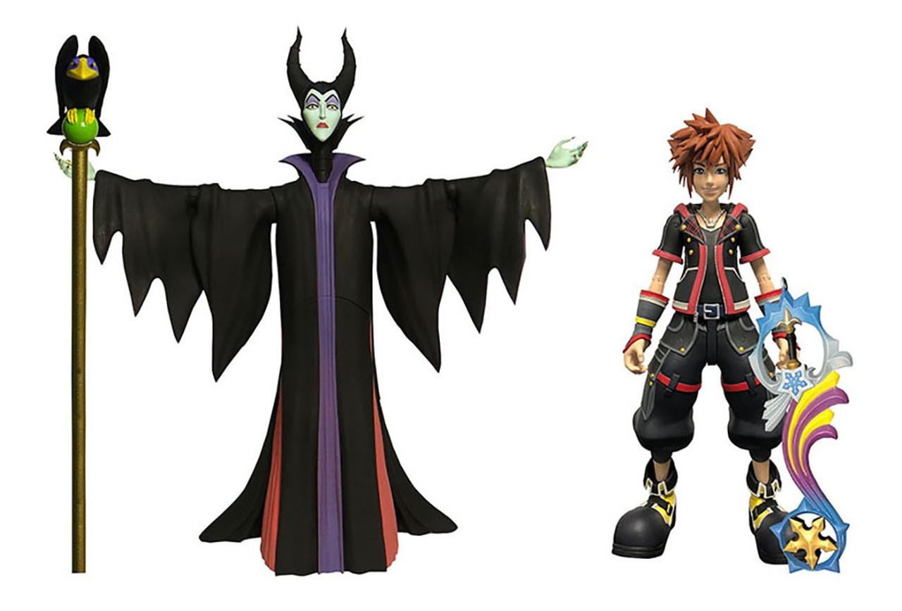 Disney Kingdom Hearts 3 Series 1 Sora Maleficent With Diablo Action Figure 2 Pack