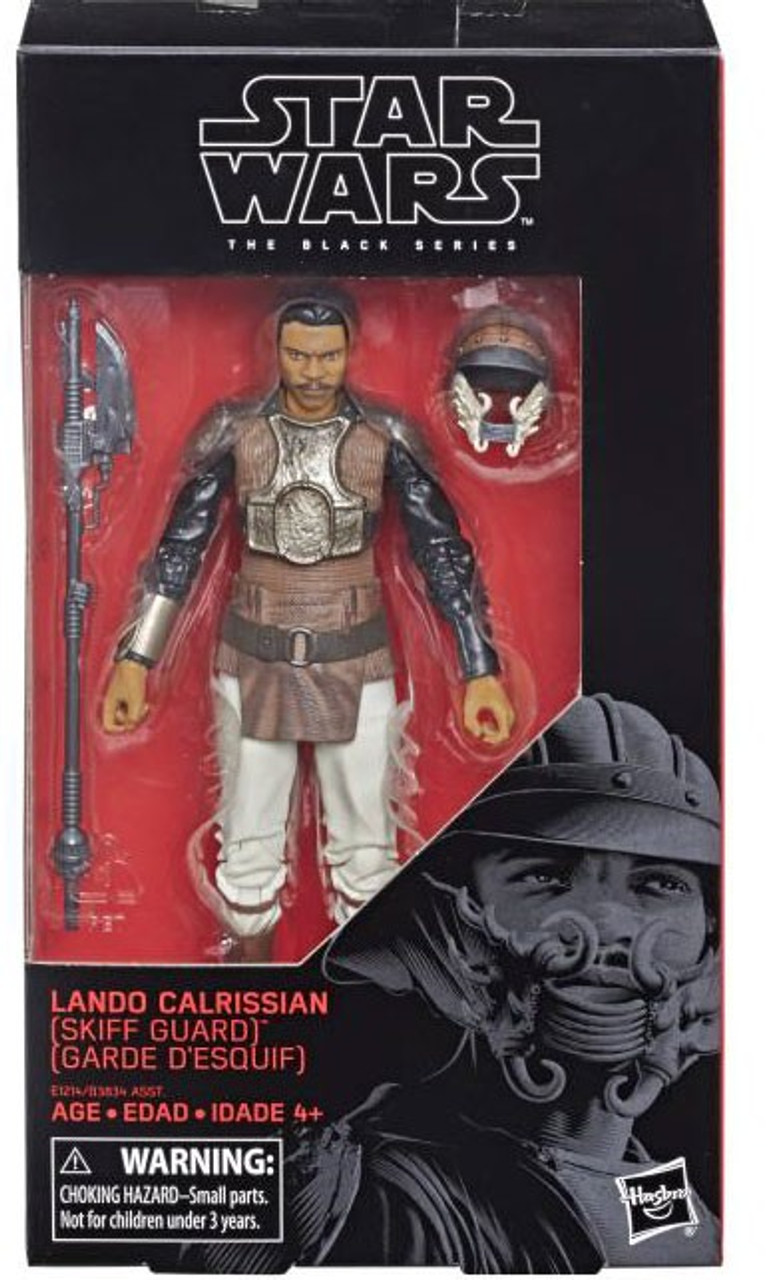"Figure Star Wars The Black Series 6/"" Lando Calrissian Skiff Guard Disguise"