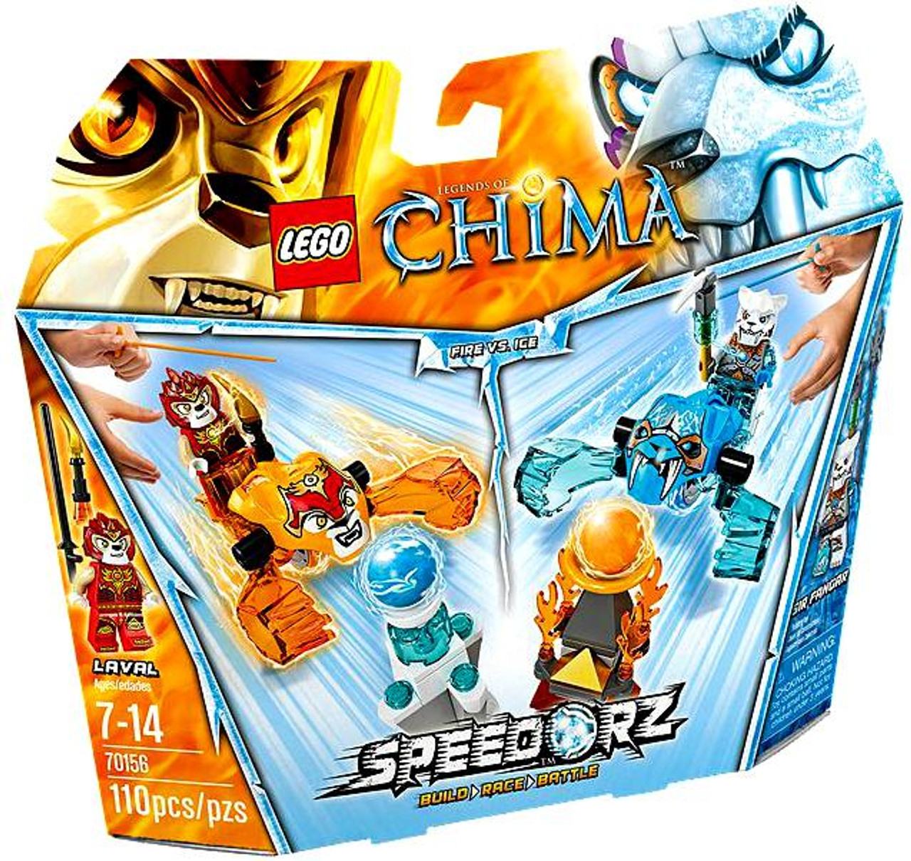 EWAR with Accessories Check Pictures New LEGO CHIMA MUST HAVE!