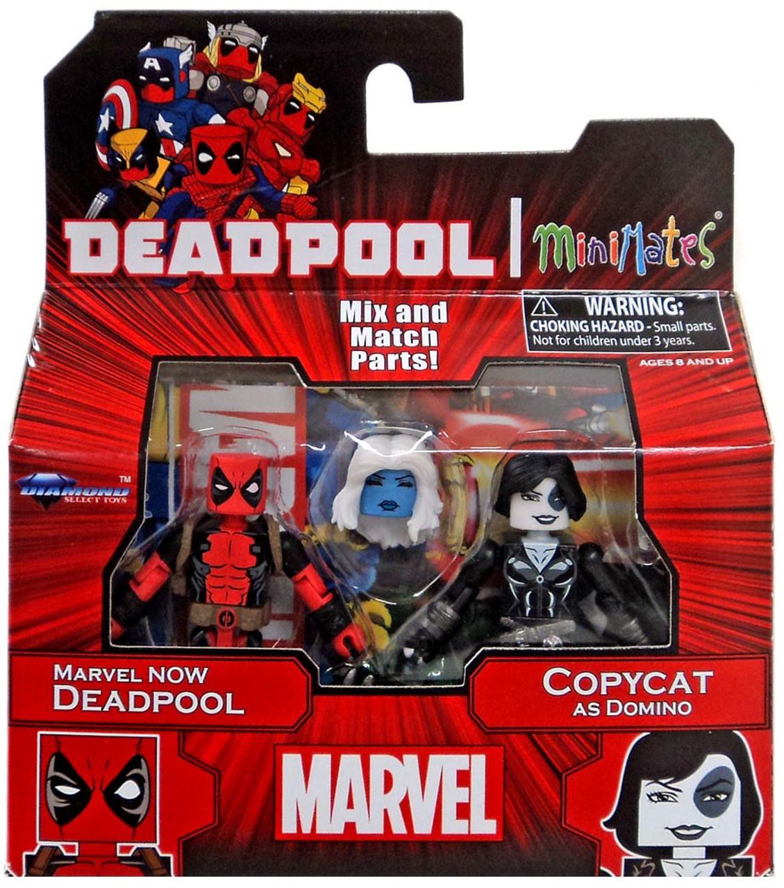 Marvel Minimates Series 65 Marvel Now Deadpool /& Copycat as Domino