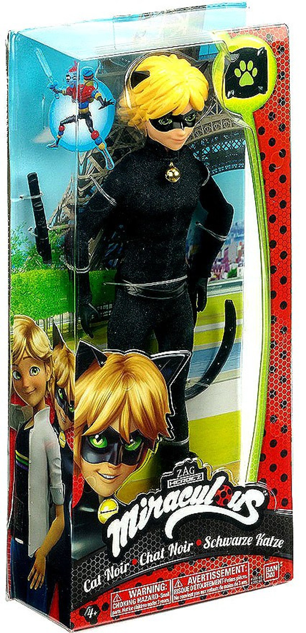 Authentic Brand New in Box Bandai Miraculous CAT NOIR Fashion Doll