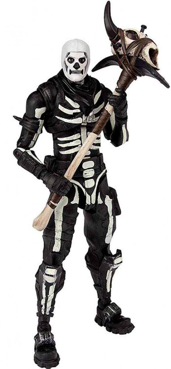 b3fa7ff5a69 McFarlane Toys Fortnite Premium Series 1 Skull Trooper 7 Action Figure -  ToyWiz