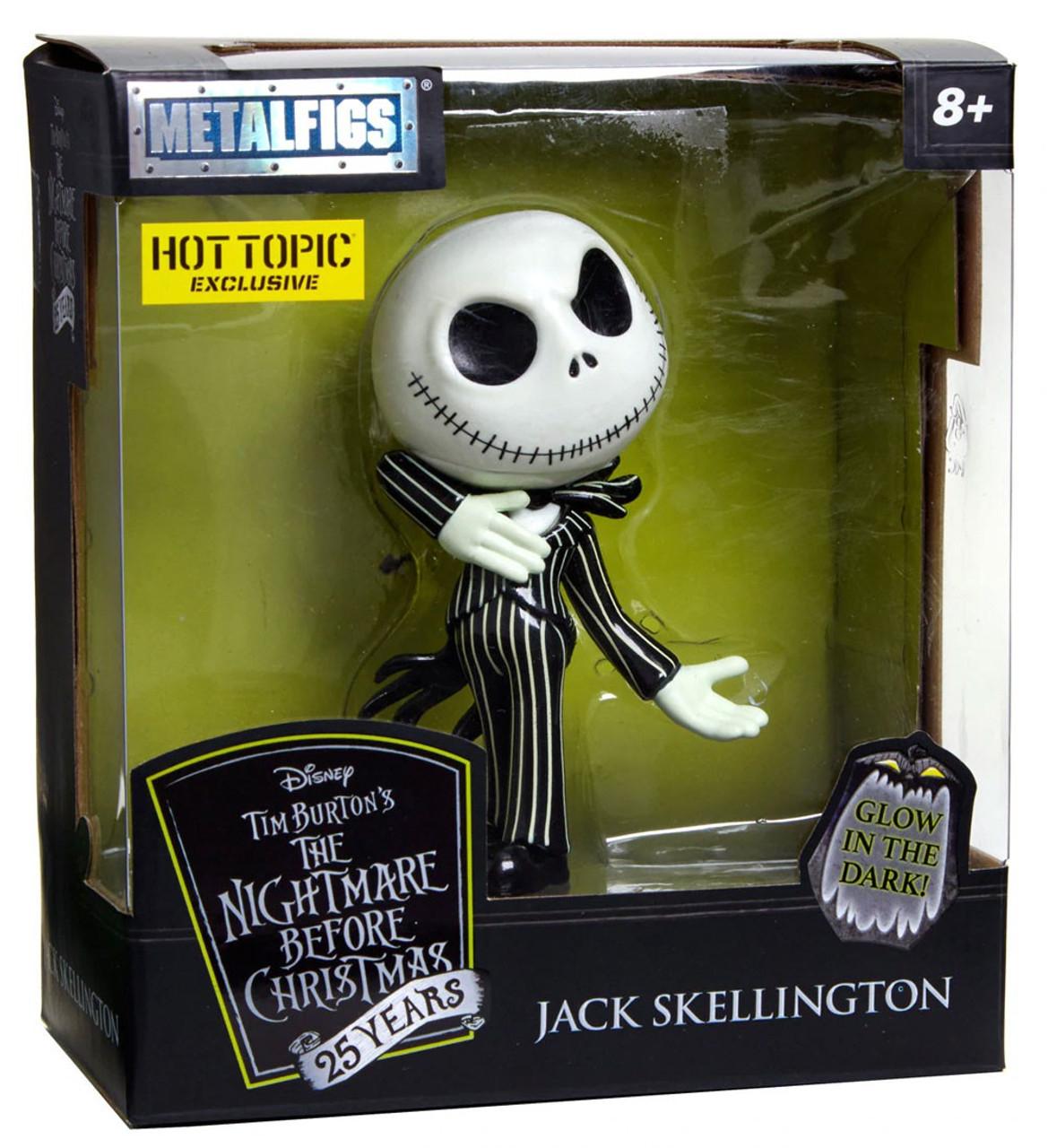 Nightmare Before Christmas Jack Skellington Miniature Figurine Nano Metalfigs