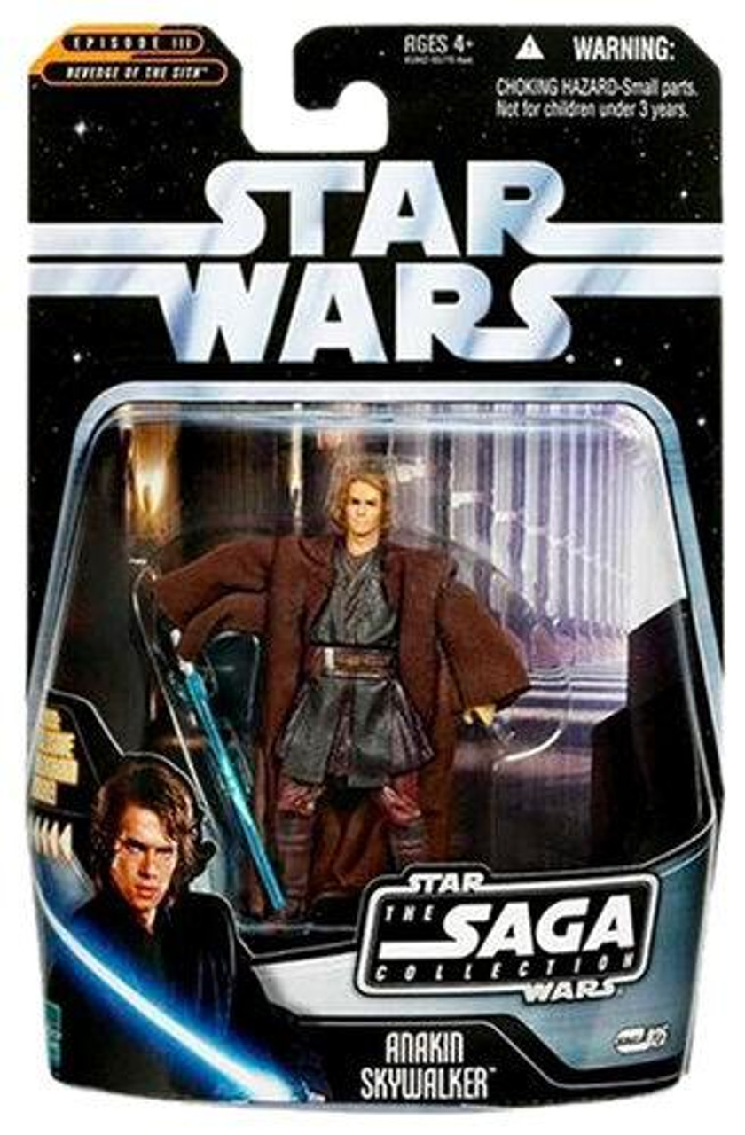 Star Wars Revenge Of The Sith 2006 Saga Collection Darth Vader 3 75 Action Figure 14 Anakin Skywalker Hasbro Toys Toywiz