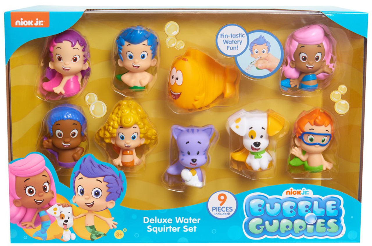 Bubble Guppies Gil, Gobby, Oona, Bubble Puppy, Deema, Molly