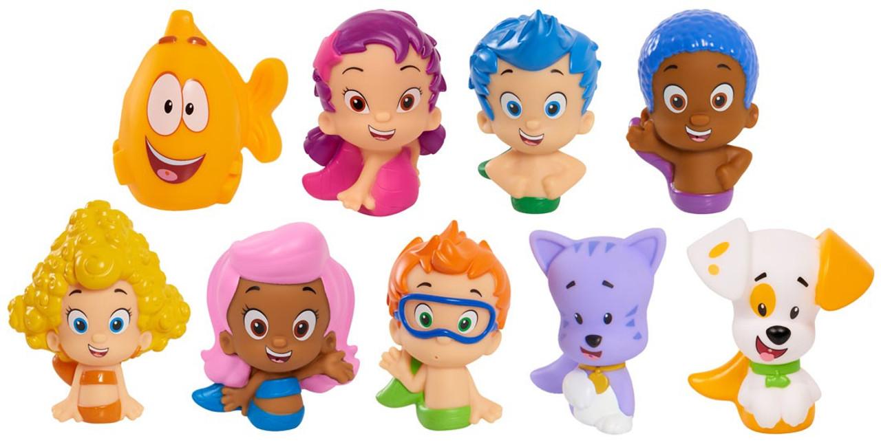 . Bubble Guppies Gil  Gobby  Oona  Bubble Puppy  Deema  Molly  Nonny