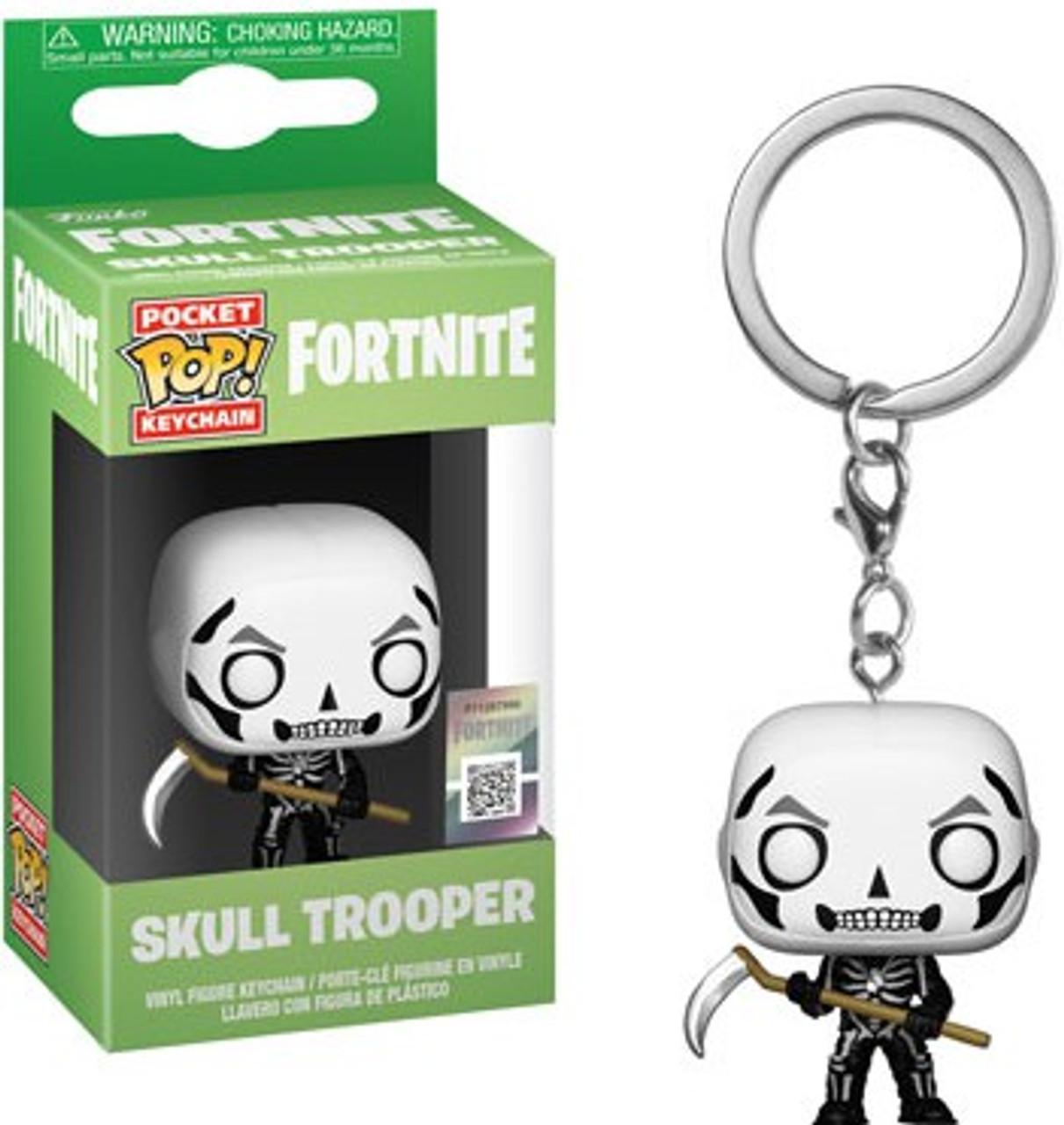 fc5f905e827 Funko Fortnite Pocket POP Games Skull Trooper Keychain - ToyWiz