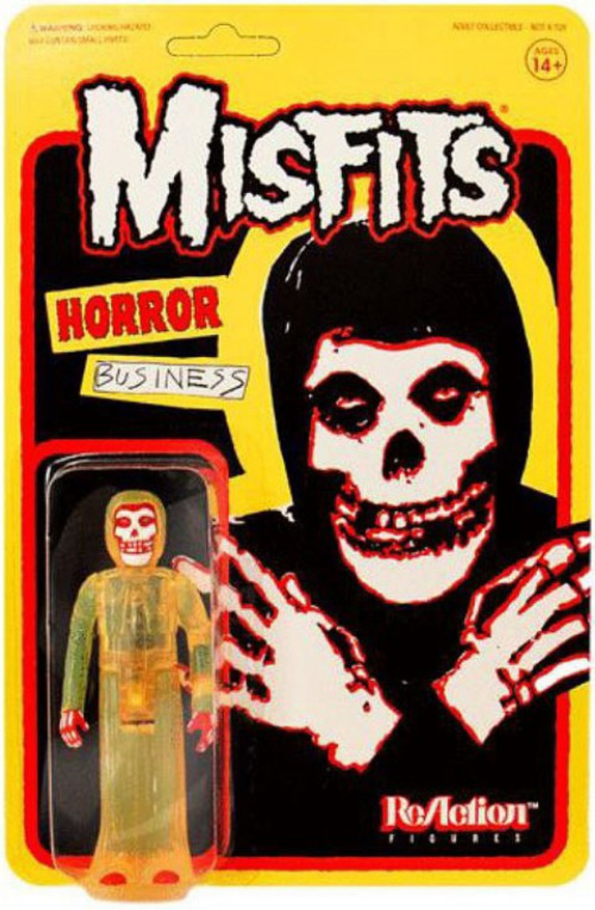 Midnight Black ReAction Misfits The Fiend Action Figure