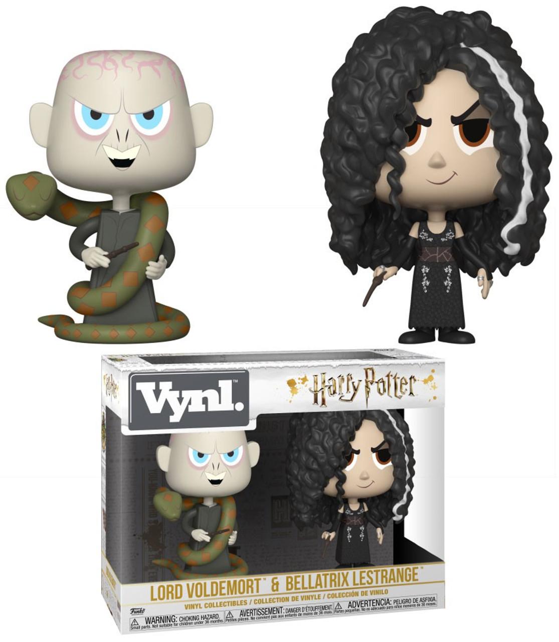 c7b227d7b4c Funko Harry Potter Vynl. Lord Voldemort Bellatrix Lestrange Vinyl Figure  2-Pack - ToyWiz