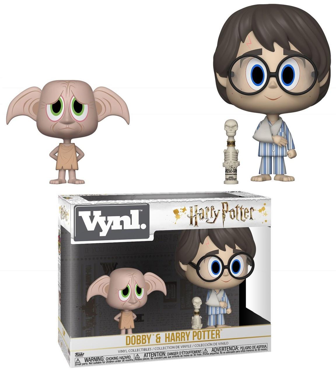 80e7b85fdc0 Funko Harry Potter Vynl. Dobby Harry Potter Vinyl Figure 2-Pack - ToyWiz
