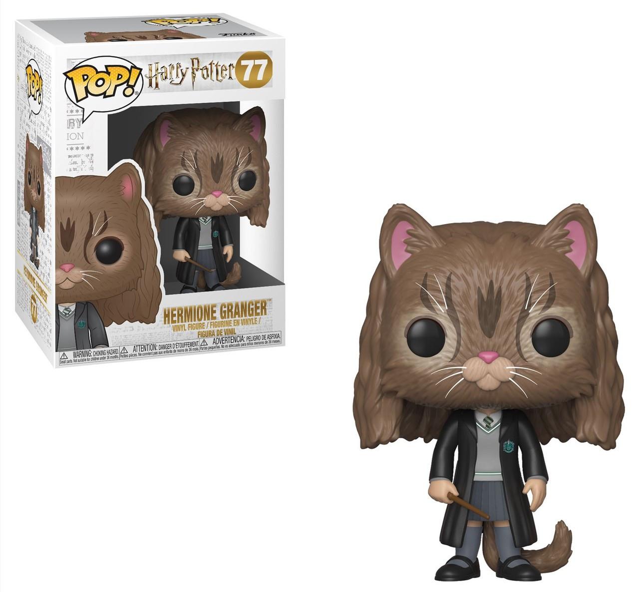 61b50c1bd90 Funko Harry Potter Funko POP Movies Hermione Vinyl Figure 77 As Cat - ToyWiz