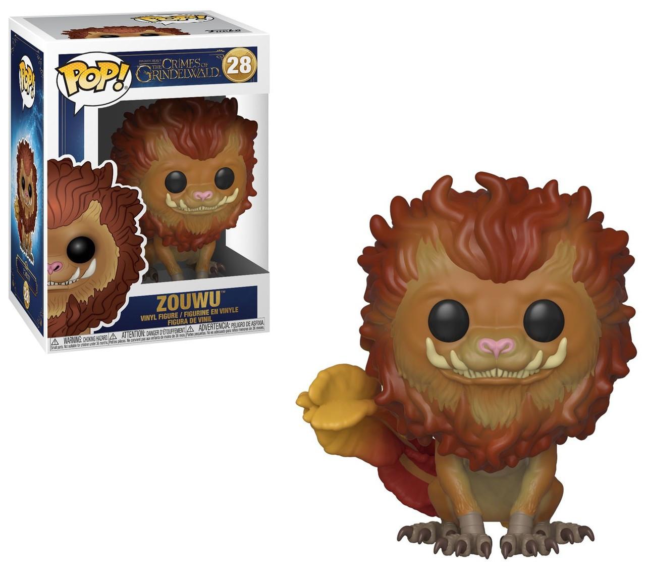 26256efe75b Funko Harry Potter Fantastic Beasts The Crimes of Grindelwald Funko POP  Movies Zouwu Vinyl Figure 28 - ToyWiz