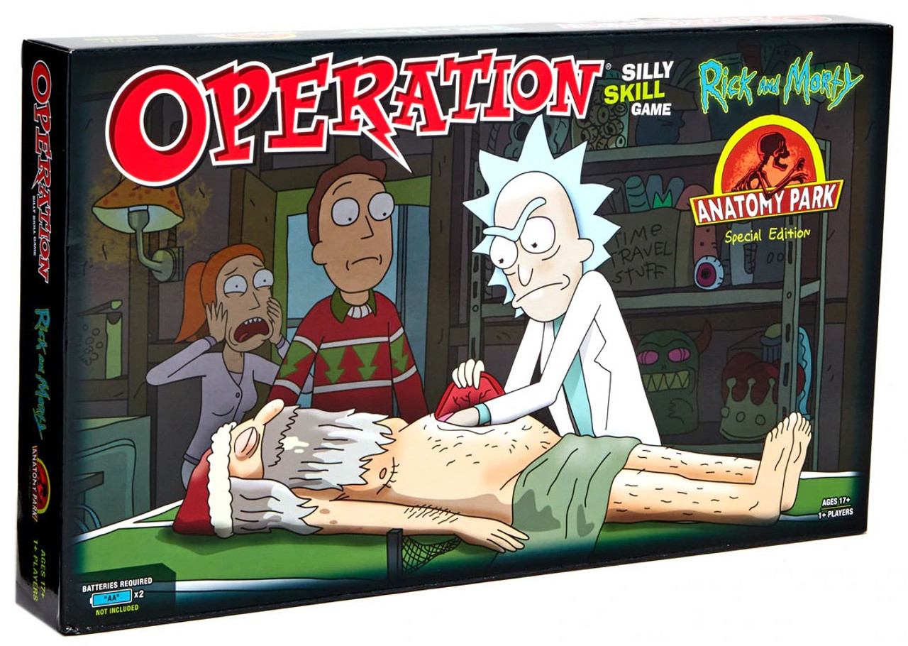 Rick & Morty Operation Exclusive Board Game