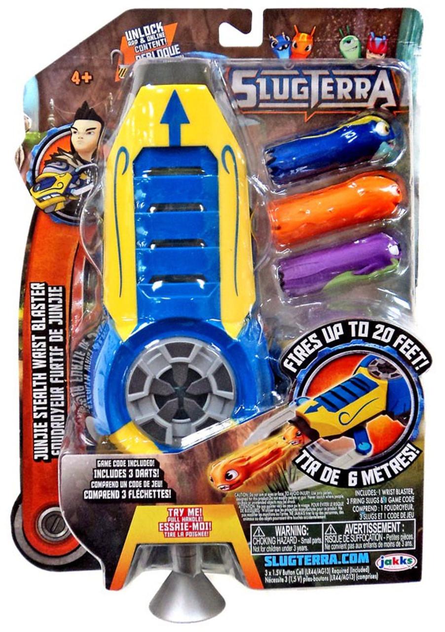 Slugterra Blaster Evo Dart Junjie Stealth Wrist Blaster