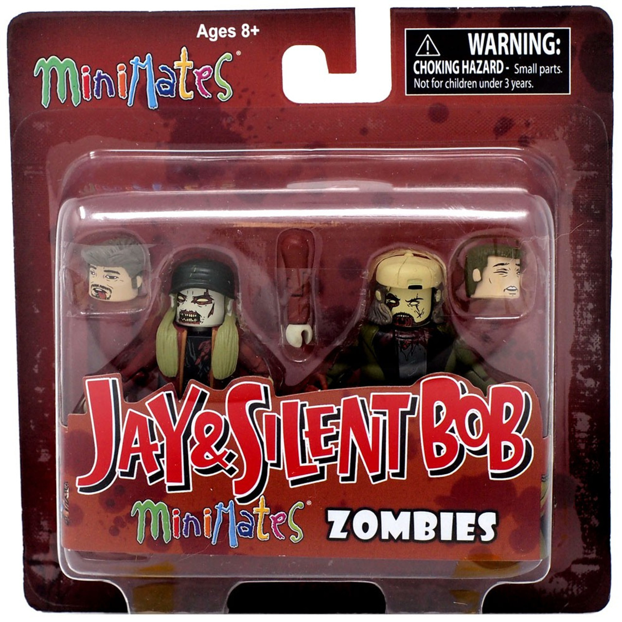 Minimates Jay and Silent Bob Zombies NEW