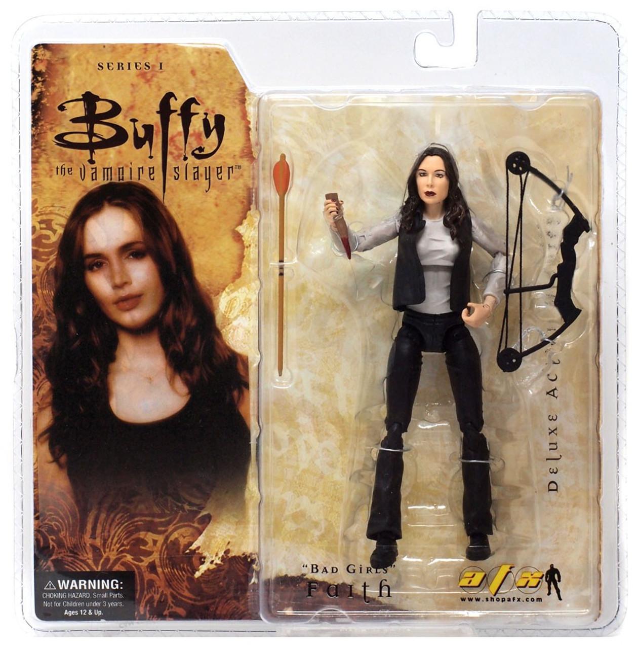 Buffy The Vampire Slayer Series 1 Faith Action Figure Bad