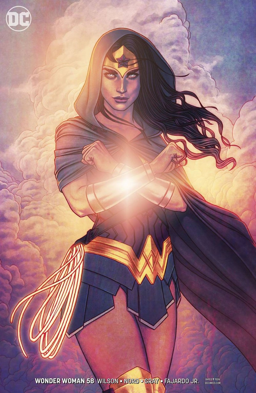 Dc Wonder Woman Comic Book 58 Jenny Frison Variant Cover -1317