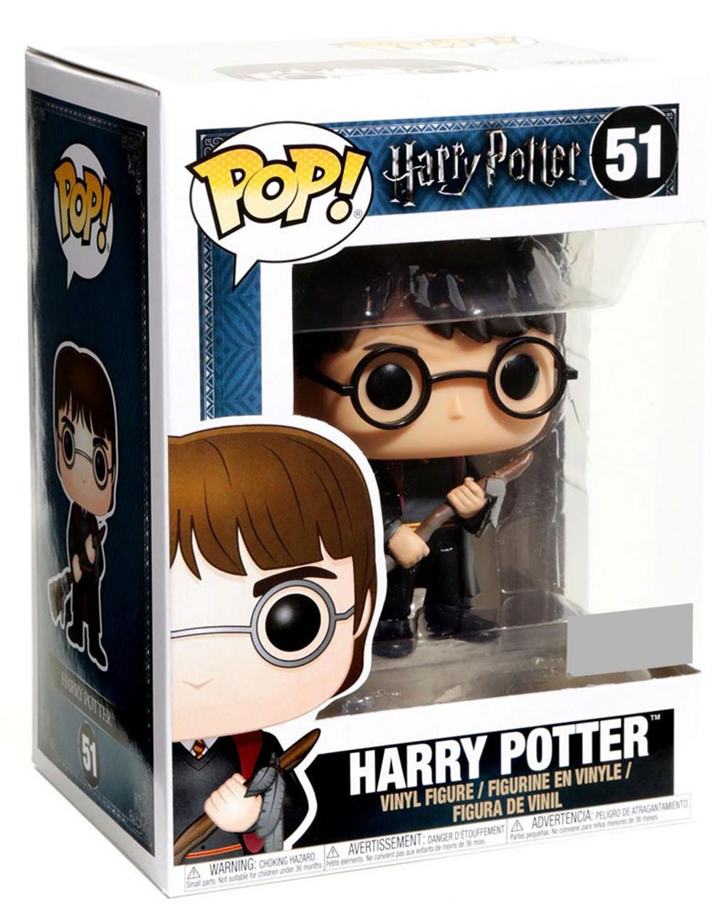 Funko POP Harry Potter With Broom Exclusive #51