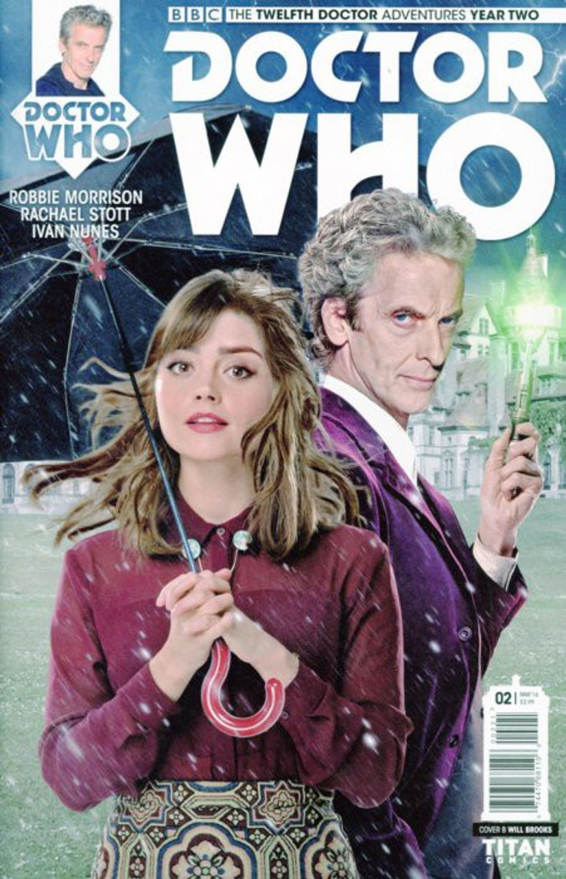 DOCTOR WHO 13TH #3 CVR B BROOKS FROM TITAN COMICS FAST SHIPPING! NEW