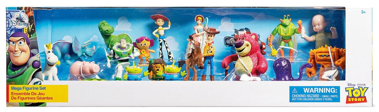 Resultado de imagen de Toy Story set Mega Figurine Playset disney store