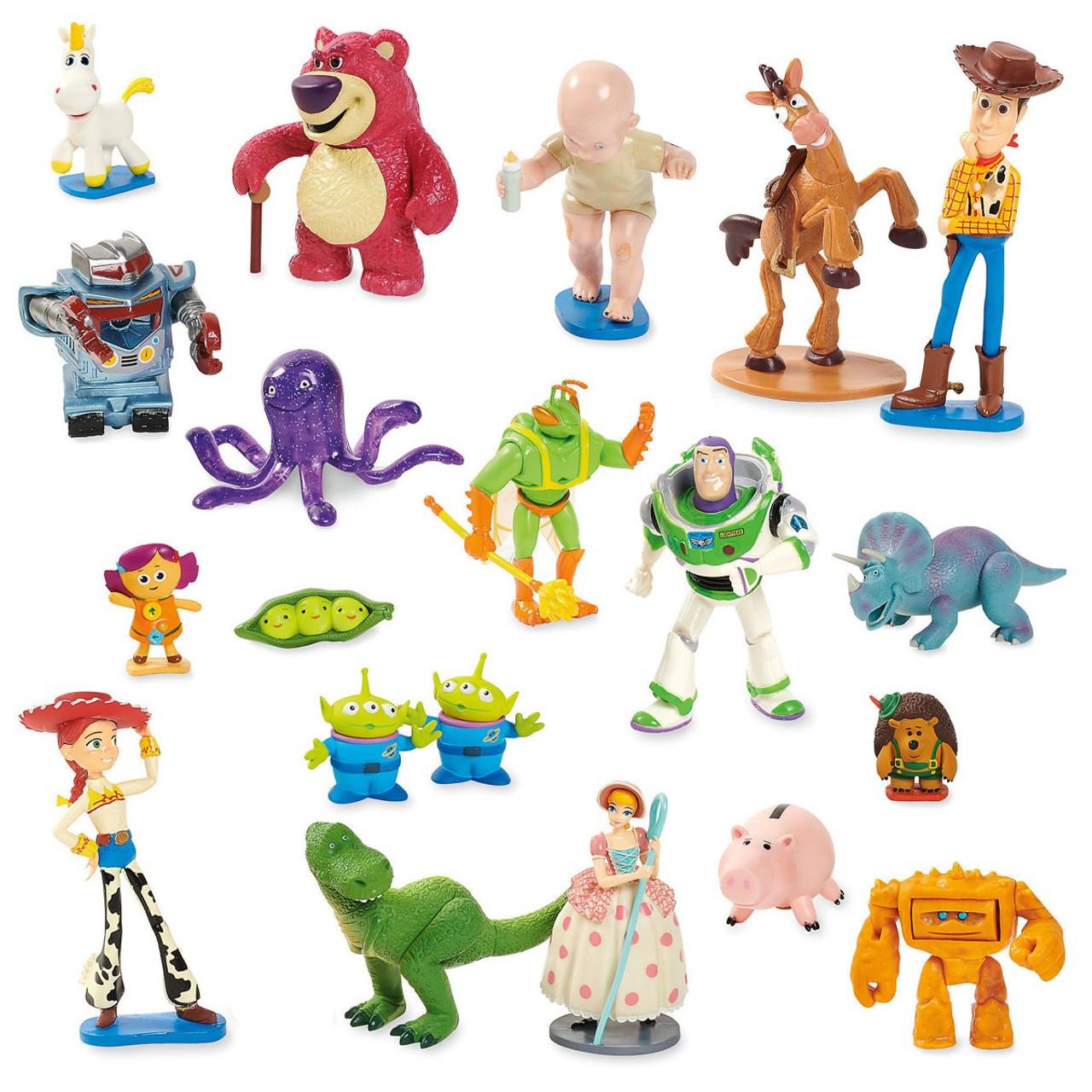 Disney Toy Story Toy Story Exclusive 20-Piece PVC Mega Figurine Playset -  ToyWiz 2bc7bd5f60a