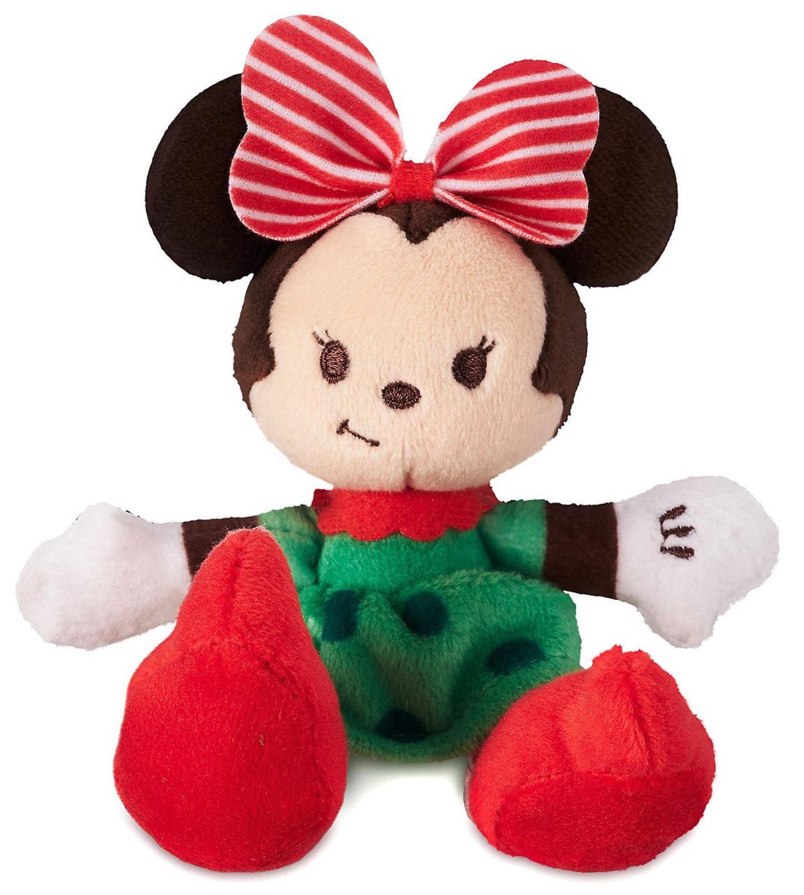 03e432ceb19 Disney Tiny Big Feet Minnie Mouse Holiday Exclusive 4 Micro Plush - ToyWiz