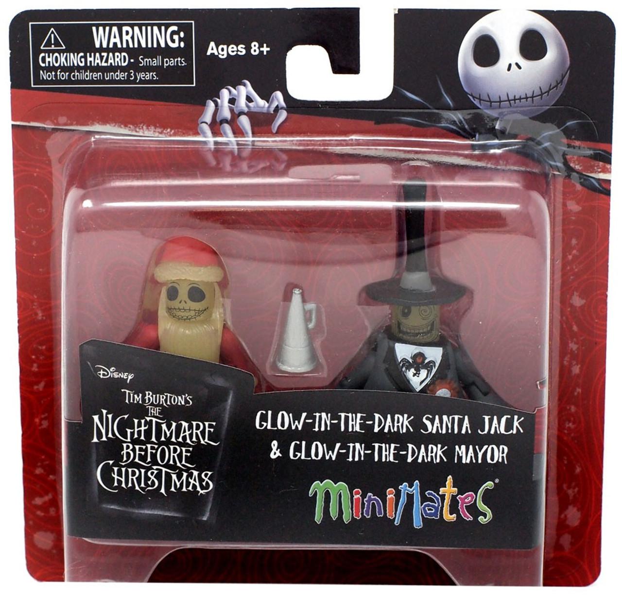 Nightmare Before Christmas Minimates Series 5 Glow-in-the-Dark Mayor