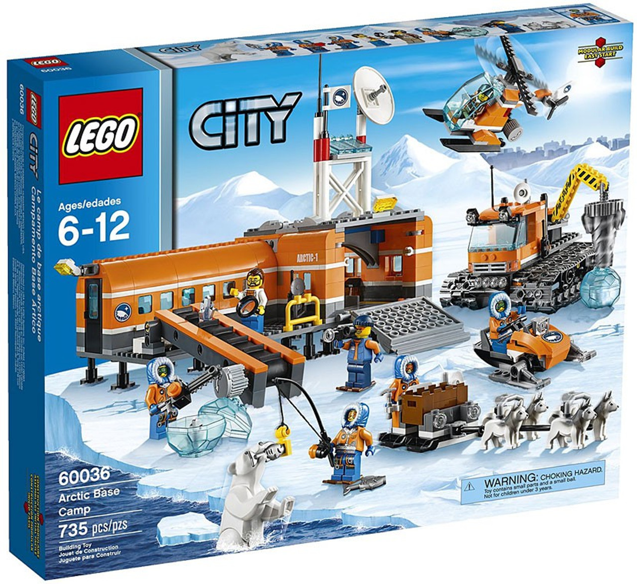 Lego City Arctic Base Camp Set 60036 Damaged Package Toywiz