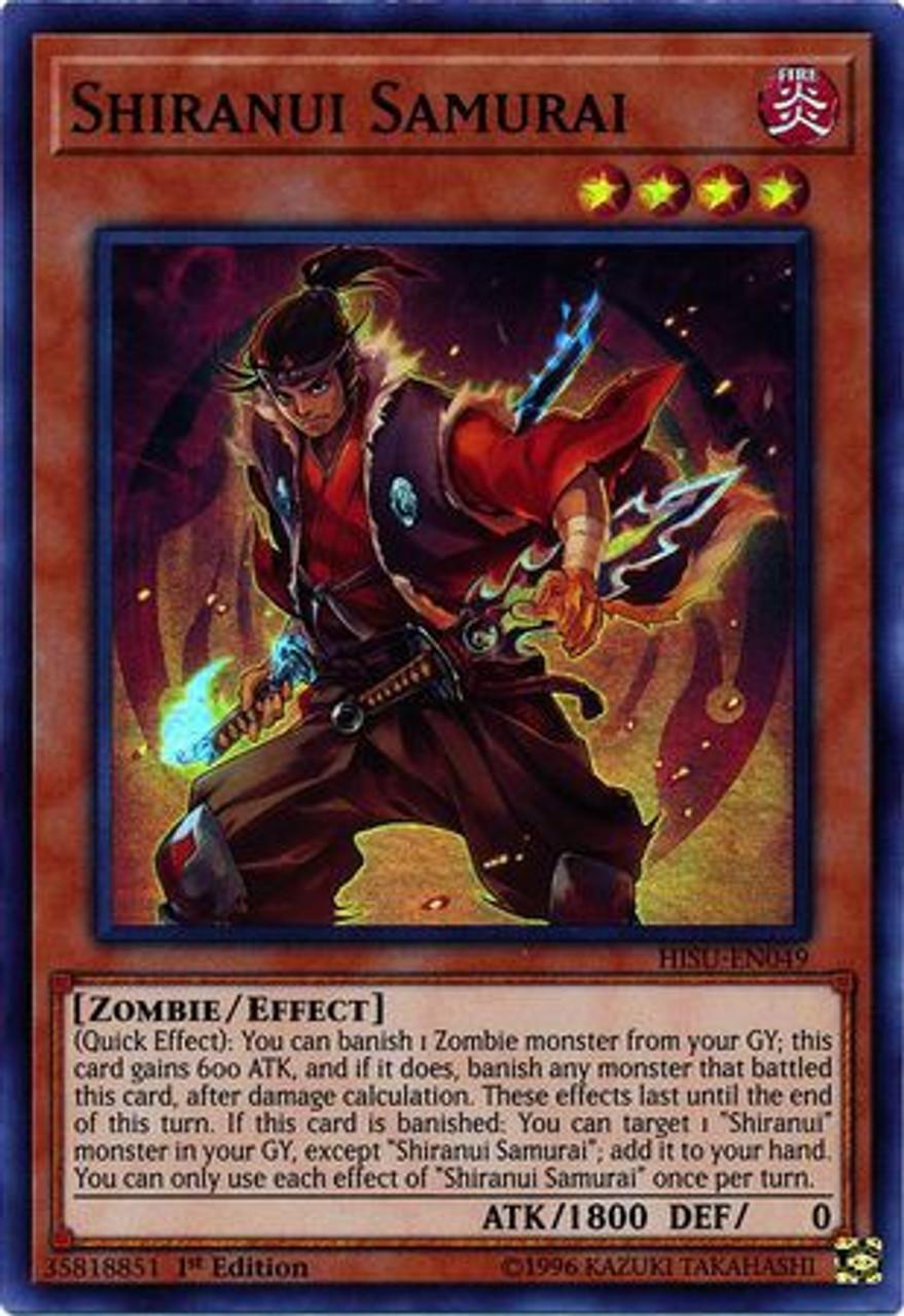 YUGIOH Shiranui Skillsaga Supremacy SAST-EN054 UR In-hand!