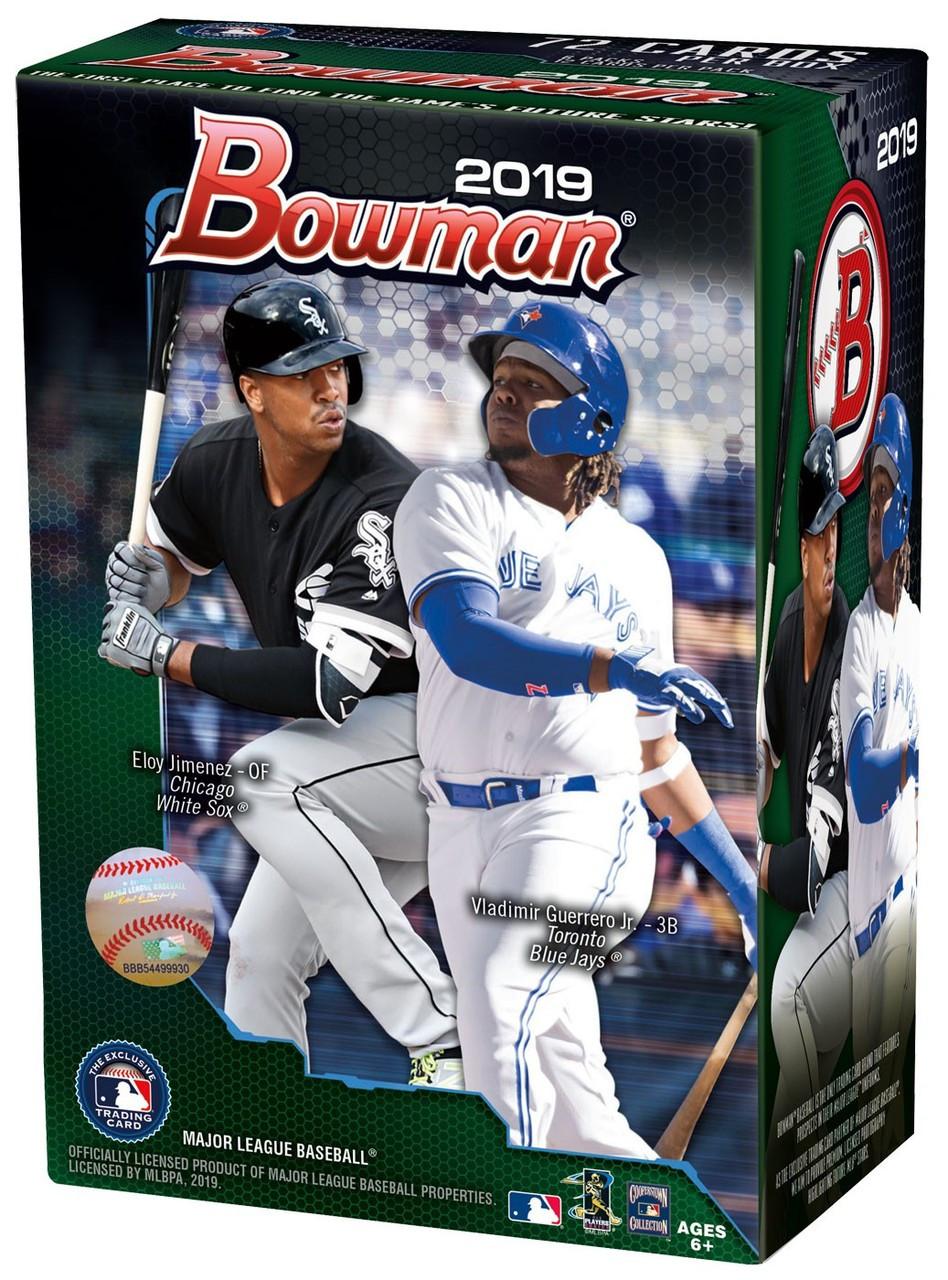Mlb 2019 Bowman Baseball Trading Card Blaster Box 6 Packs