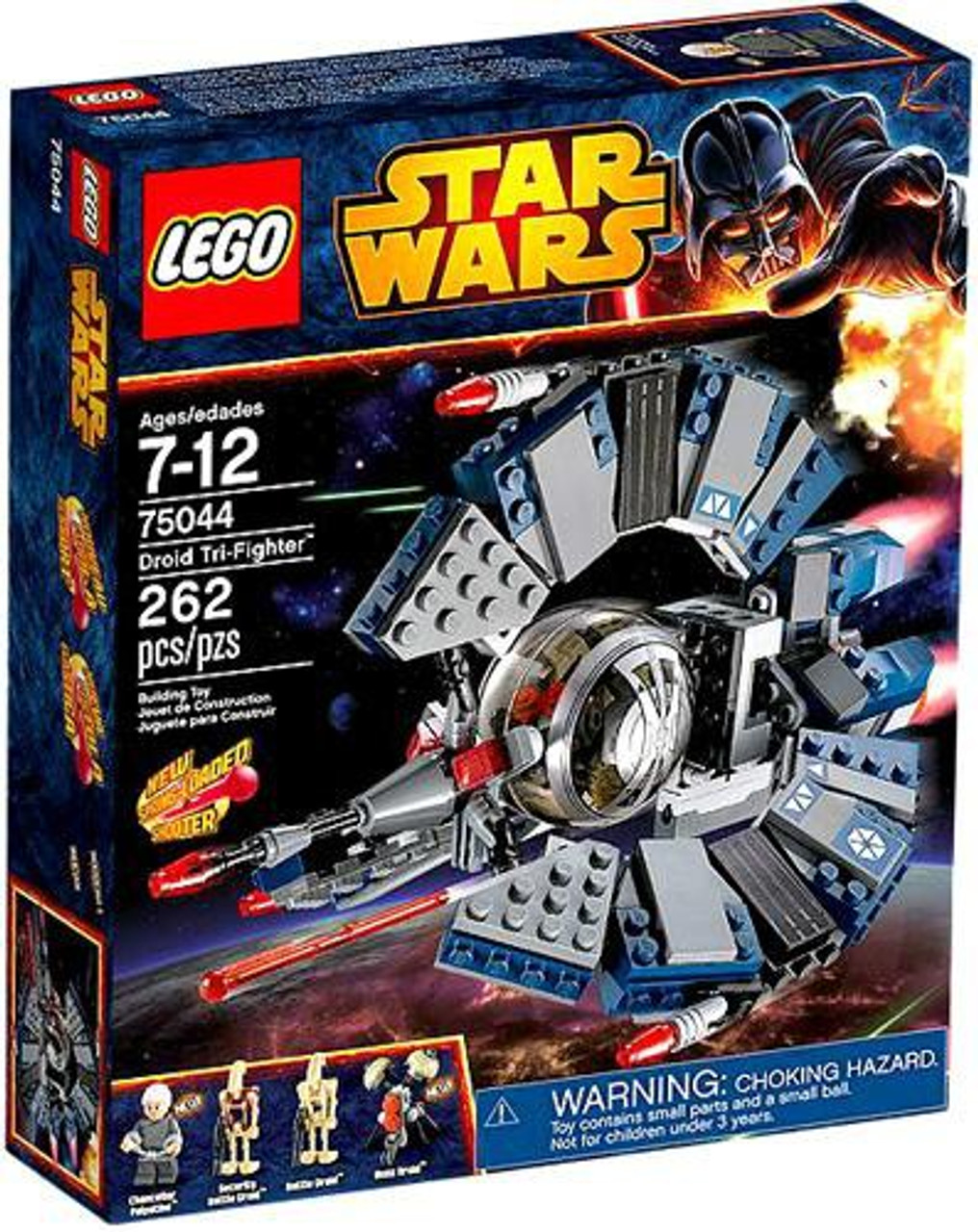 Lego Star Wars Revenge Of The Sith Droid Tri Fighter Set 75044 Toywiz