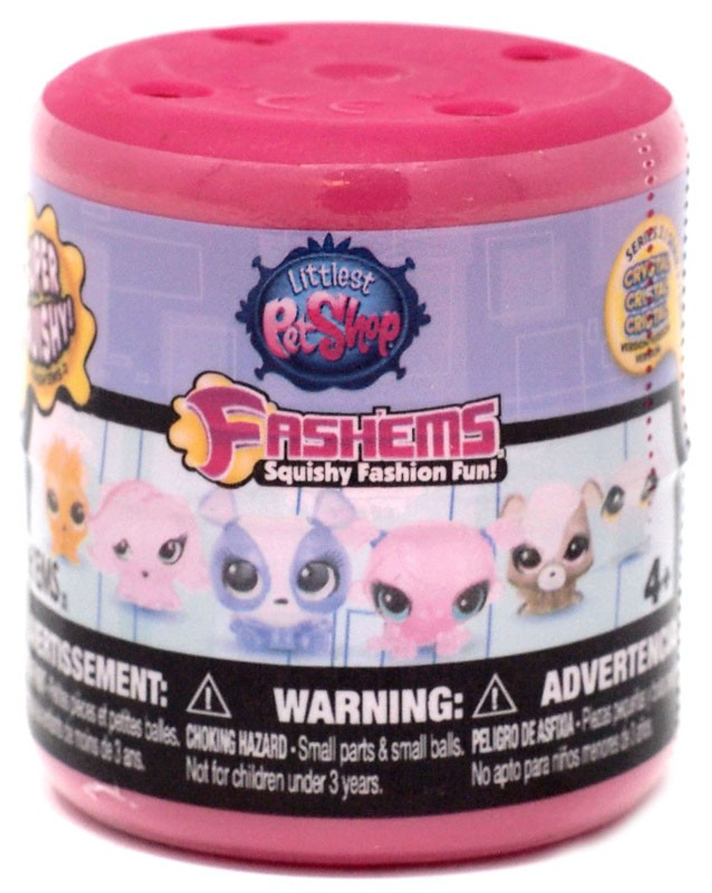 3 Mashems Littlest Pet Shop Series 3